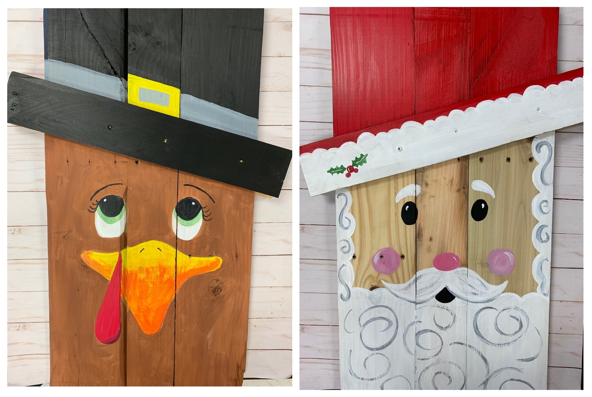 Double Sided Pallet Board Paint Class