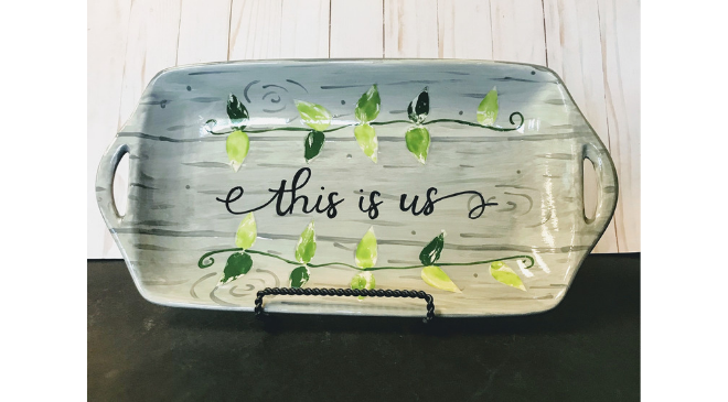 This is Us Ceramic Paint Class