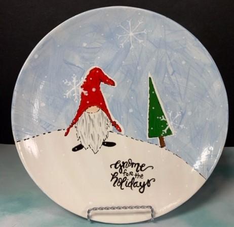Gnome for the Holidays Ceramic Class