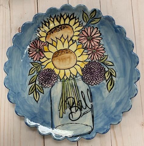 Ceramic Mason Jar Flower Class!