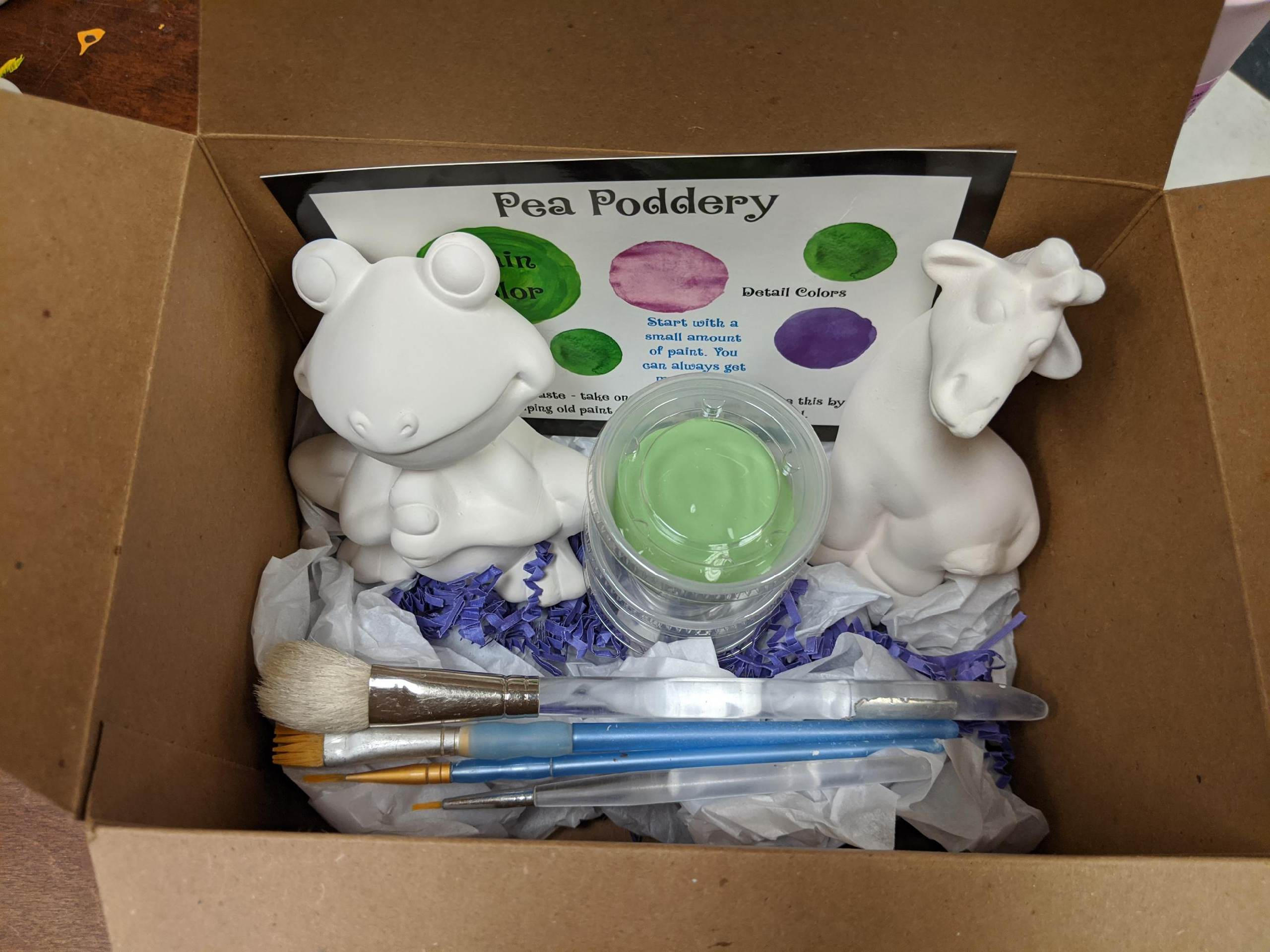 Pottery To-Go Kit