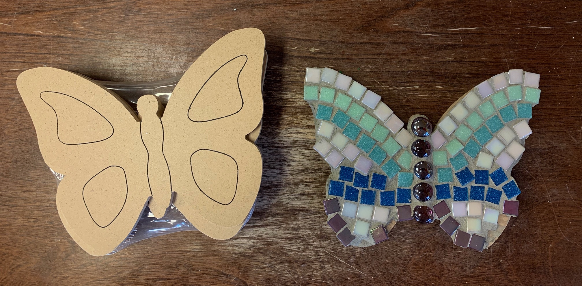 Make your own mosaics at home